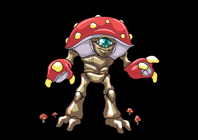 172 - Mushroom Monster - Normal.png